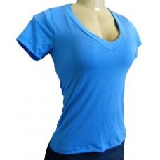 Camiseta Feminina Gola V