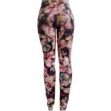 Calça Legging Cirre Estampada Floral