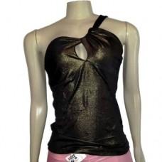 Camiseta Regata Feminina Com Brilho 0027