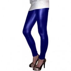 Calça legging Cirré Com Brilho Azul Bic