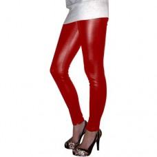 Calça legging Cirré Brilha Molhado Vermelha