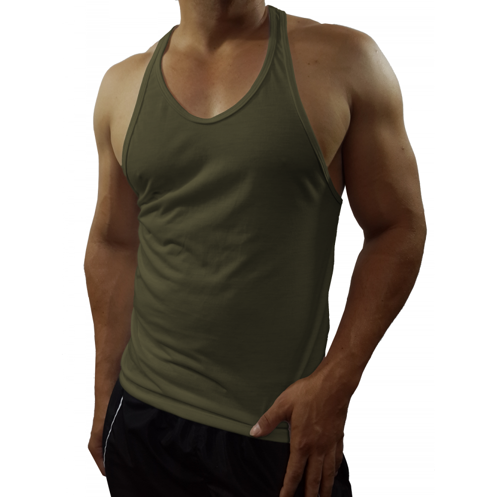 a256d8609a ... Camiseta Regata Masculina Nadador Cavada Tank10 ...
