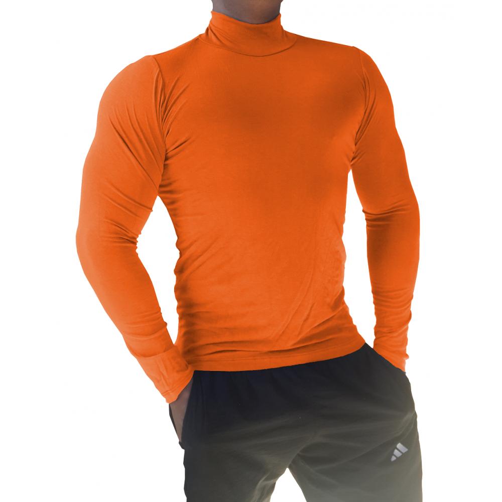1a134b7026 ... Camiseta Masculina Gola Alta Manga Longa ...