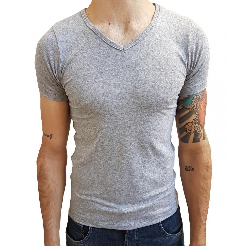 168303a2e Compre Camiseta Masculina Gola V Viés