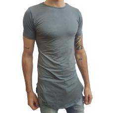Camiseta Long Masculina Oversized Swag Longline