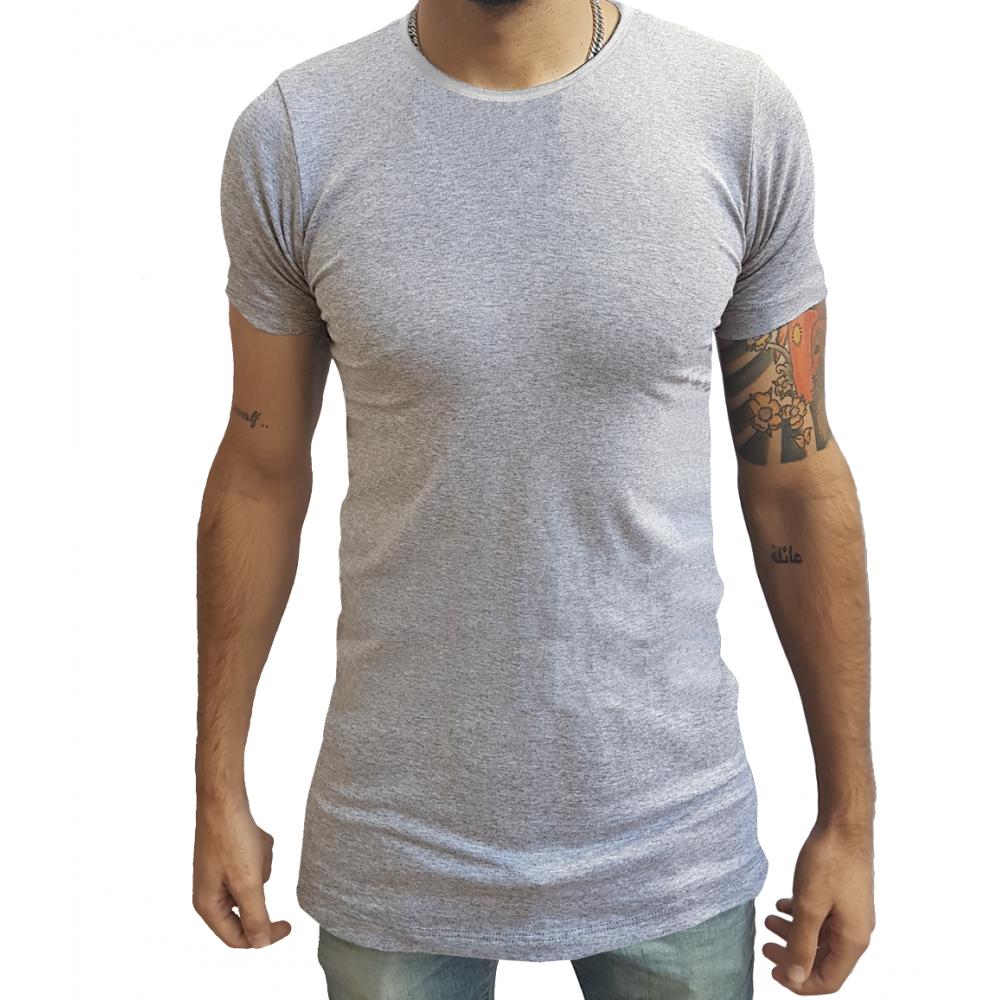 527365236b Camiseta Long Masculina Oversized Swag Longline Quadrada ...
