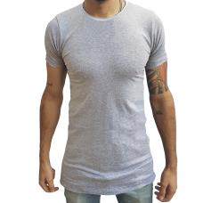 Camiseta Masculina Oversized Swag Longline Quadrada