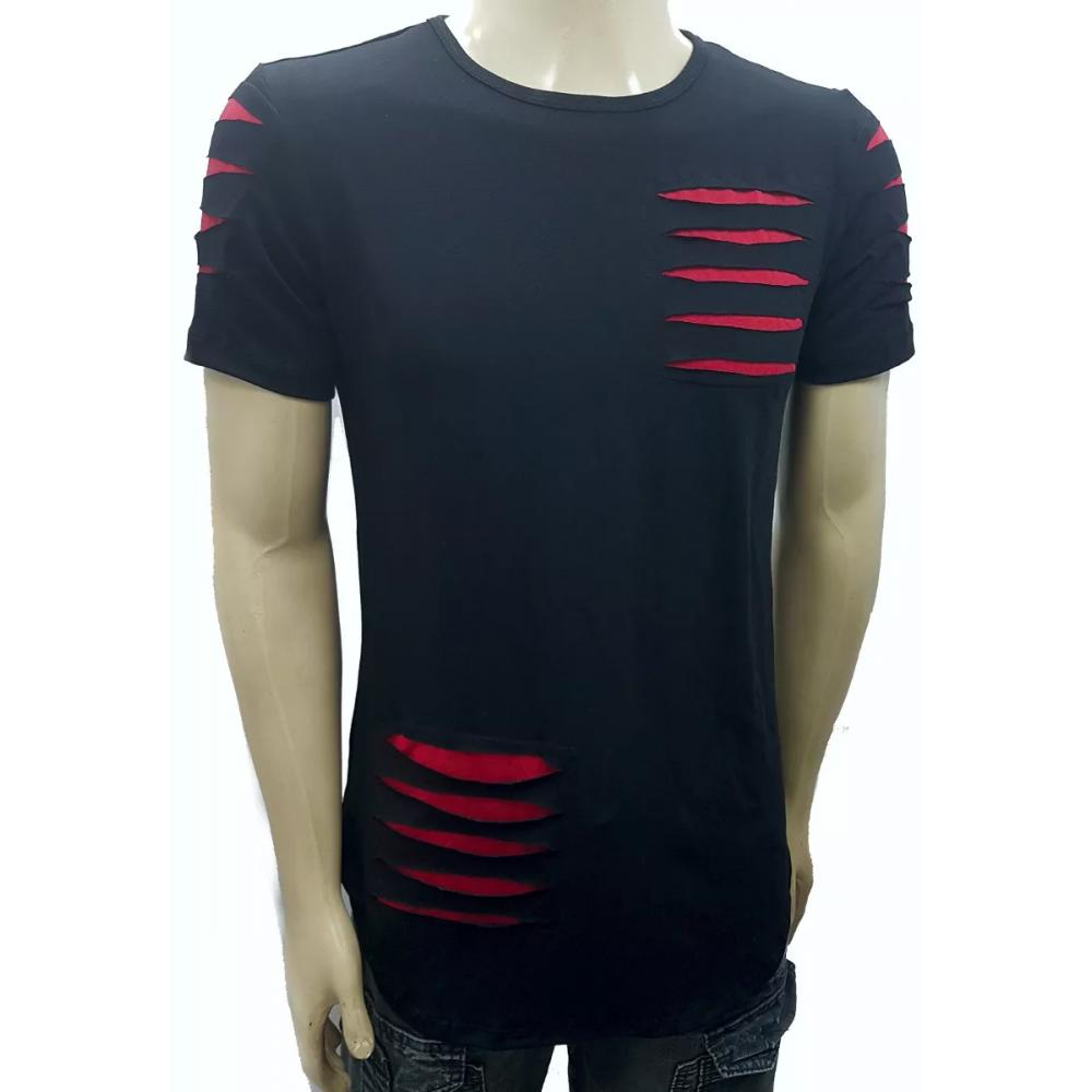 041175a84 Camiseta Long Masculina Oversized Swag Longline