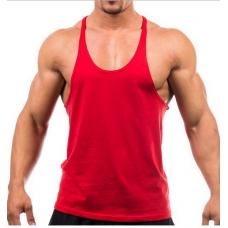 Camiseta Bodybuilding 100% Poliéster Vermelha